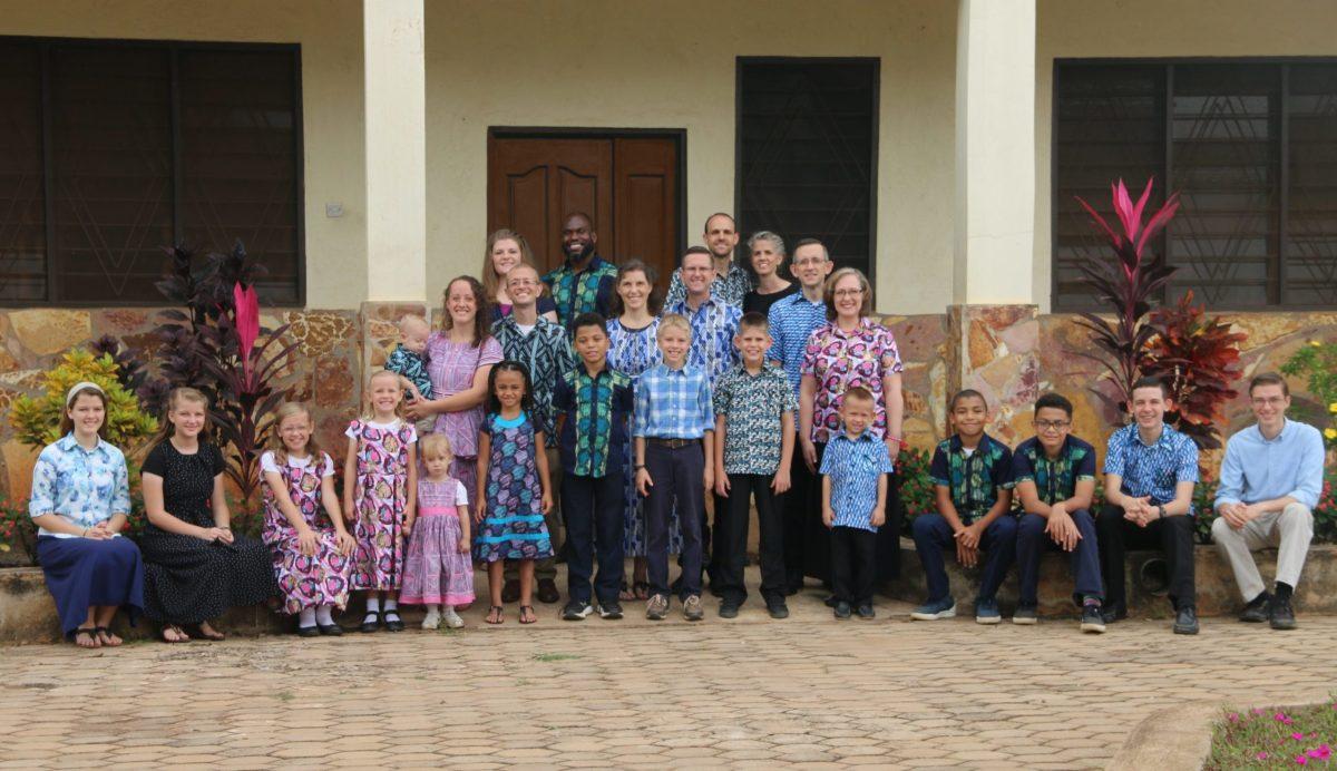Team Ghana group photo