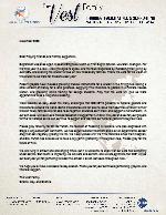 Charlie Vest Prayer Letter: Missions-Emphasis Month