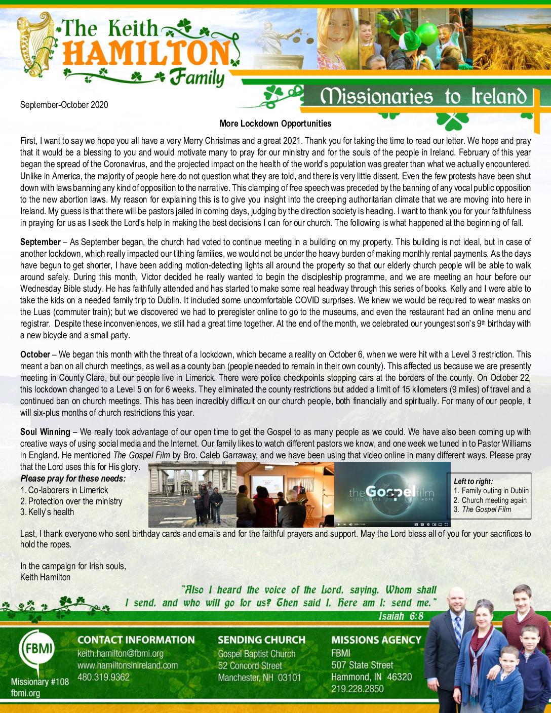 thumbnail of Keith Hamilton Sep-Oct 2020 Prayer Letter – Updated