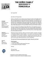 Andres Nunez Prayer Letter:  A Successful Vacation Bible School