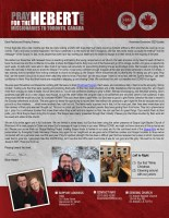Brian Hebert Prayer Letter: Ending the Year with New Perspective