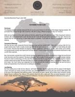 Montana Morrow Prayer Letter: According to His Plans
