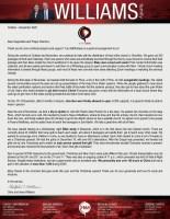Chris Williams Prayer Letter: Evangelistic Meetings