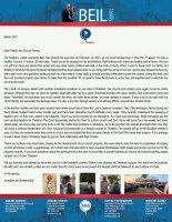 Jonathan Beil Prayer Letter: Our Firstborn Has Arrived!