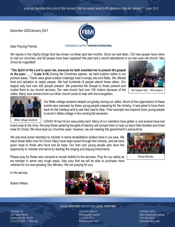 thumbnail of Robert Wilson Dec 2020 – Jan 2021 Prayer Letter
