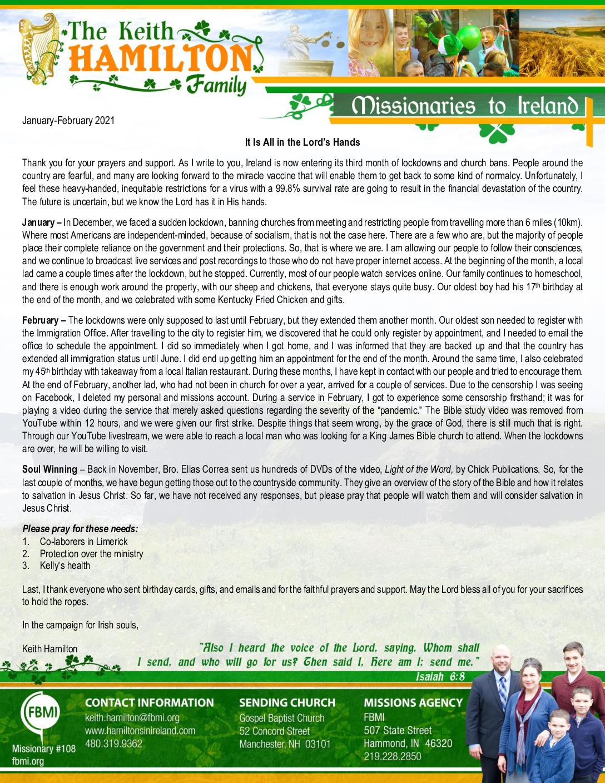 thumbnail of Keith Hamilton Jan-Feb 2021 Prayer Letter – Updated