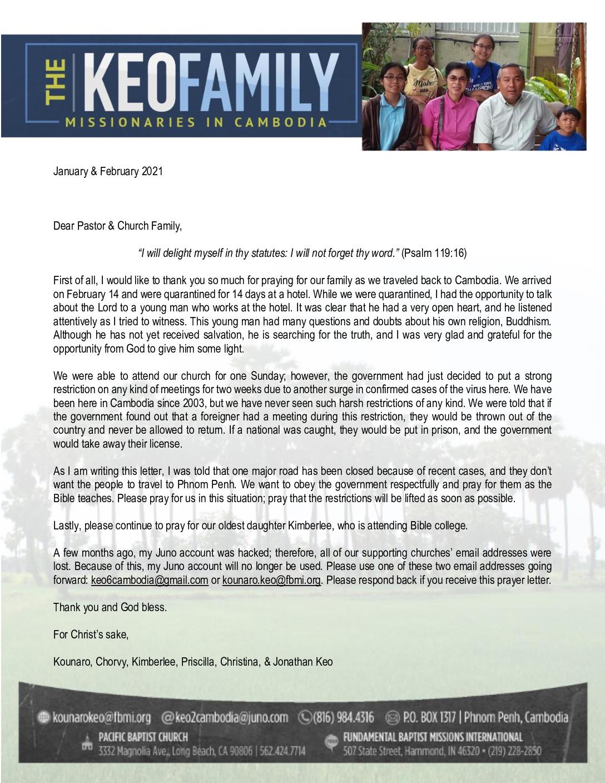 thumbnail of Kounaro Keo Jan-Feb 2021 Prayer Letter – 2