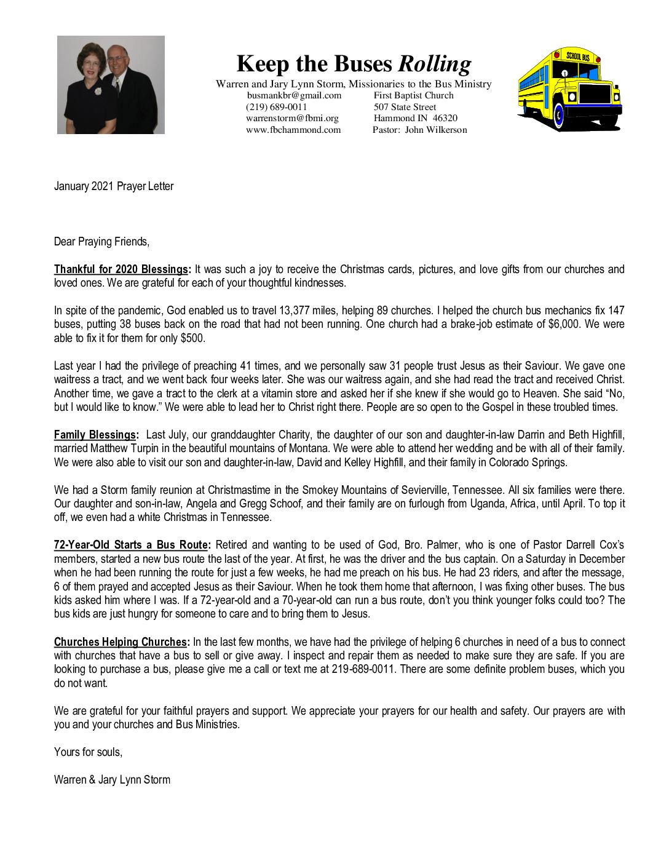 thumbnail of Warren Storm January 2021 Prayer Letter – Revised