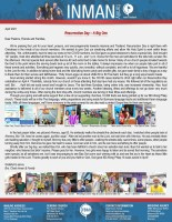 Chad Inman Prayer Letter: Resurrection Day--A Big One!
