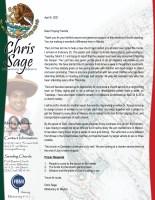 thumbnail of Christopher Sage April 2021 Prayer Letter