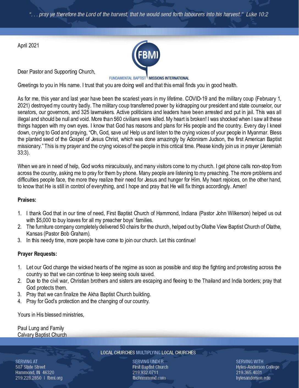 thumbnail of Paul Lung April 2021 Prayer Letter – Revised