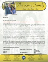 Andrew and Denise Long Prayer Letter: Oh That Men Would Praise the Lord