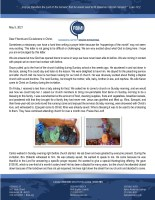Henry Gonzalez Prayer Letter: Excited About What God Is Doing Here!
