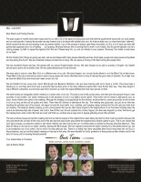 Jerry III and Rachel Wyatt Prayer Letter:  Wonderful Easter Services in English and Swahili