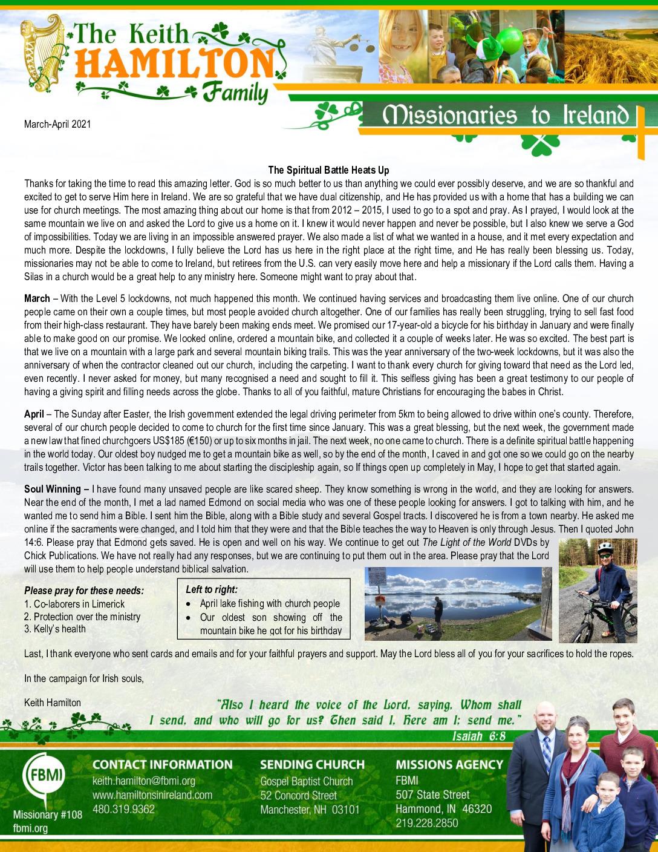 thumbnail of Keith Hamilton Mar-Apr 2021 Prayer Letter – Updated