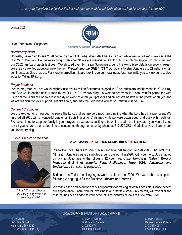 thumbnail of Elias Correa Winter 2021 Prayer Letter