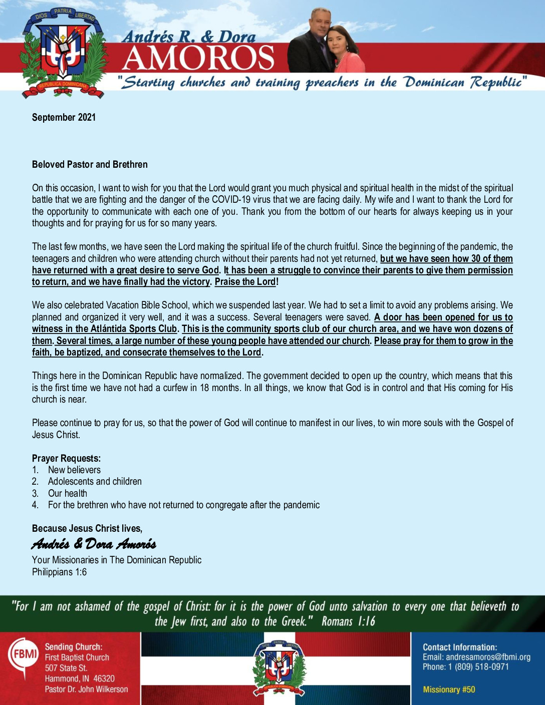 thumbnail of Andres Amoros September 2021 ENGLISH Prayer Letter