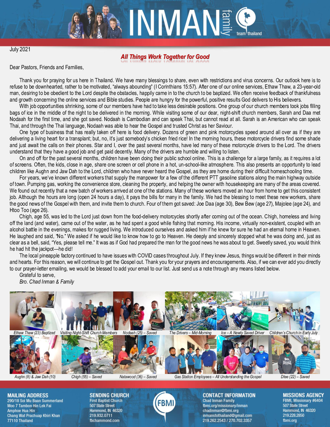 thumbnail of Chad Inman July 2021 Prayer Letter – Revised