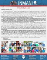 Chad and Sarah Inman Prayer Letter: All Things Work Together for Good