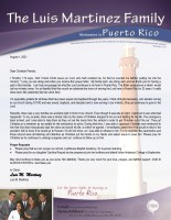 Luis and Carolina Martinez Prayer Letter: Serving the Lord for 23 Years in Puerto Rico!!