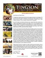 Garry and Mindy Tingson Prayer Letter: We Have Arrived in Australia!
