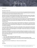 Israel and Tonya Alvarez Prayer Letter: Preparing for Our Fall Season of the Ministry