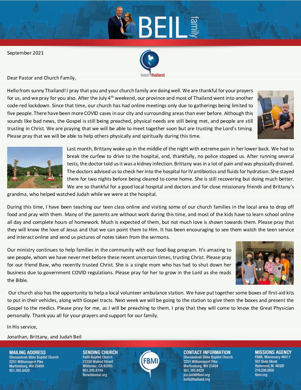 thumbnail of Jonathan Beil September 2021 Prayer Letter – Revised