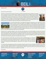 Jon and Brittany Beil Prayer Letter: The Gospel Is Still Being Preached in Spite of Another Lockdown