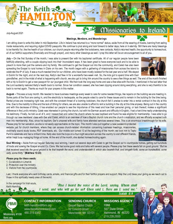 thumbnail of Keith Hamilton Jul-Aug 2021 Prayer Letter