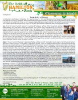 Keith and Kelly Hamilton Prayer Letter: Meetings, Members, and Meanderings