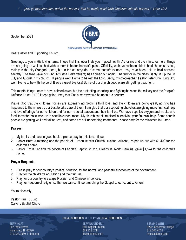 thumbnail of Paul Lung September 2021 Prayer Letter – Revised
