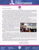 Scott Christiansen Prayer Letter: IBC Missions Conference 2021