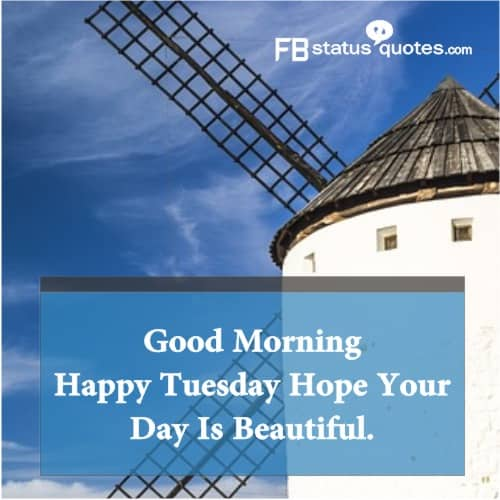 Tuesday Good Morning Wishes Quotes
