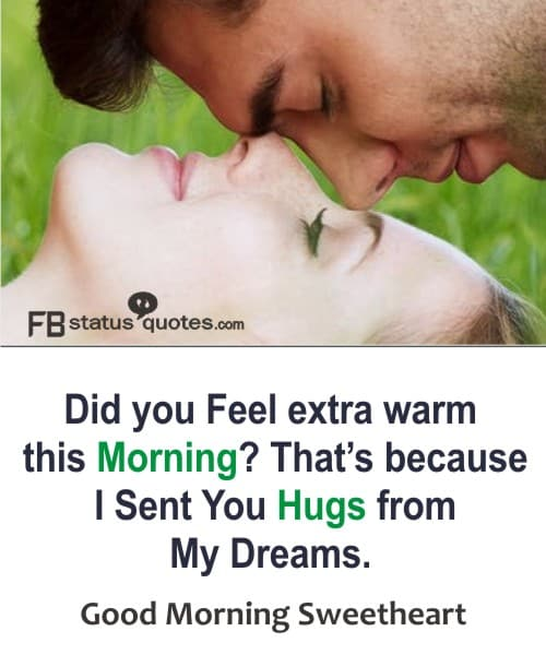 good morning sweetheart quotes image