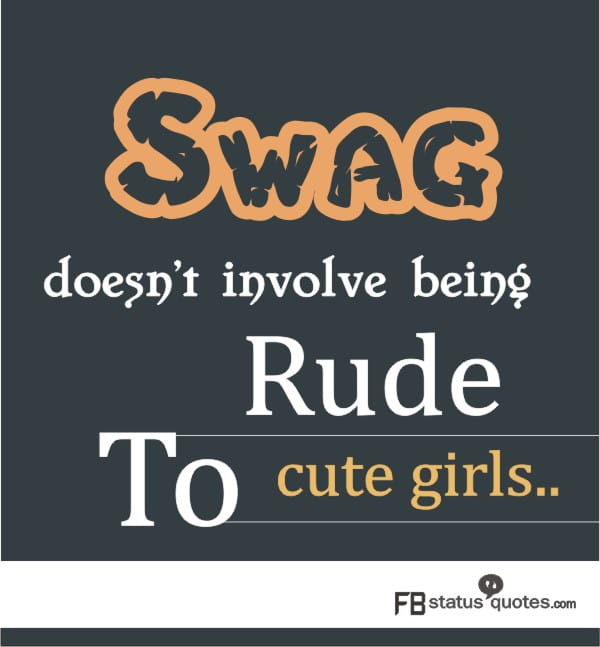 Swag Quotes On Attitude