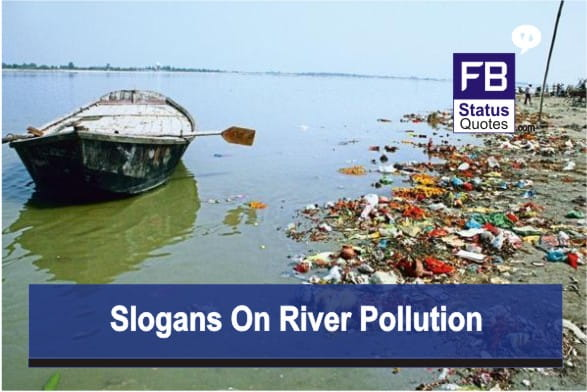 Slogans On River Pollution