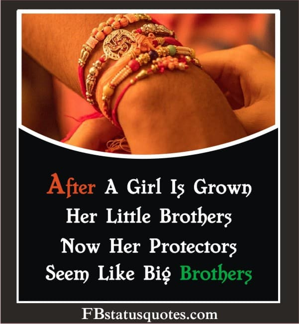 After A Girl Is Grown, Her Little Brothers