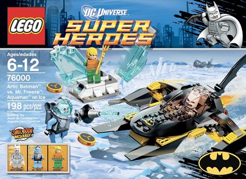 76000 Arctic Batman vs. Mr Freeze: Aquaman on Ice