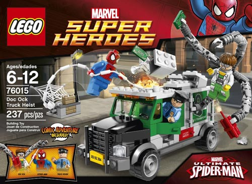 Amazon, Walmart Discounts Two Additional Super Heroes Sets: 76015 ...