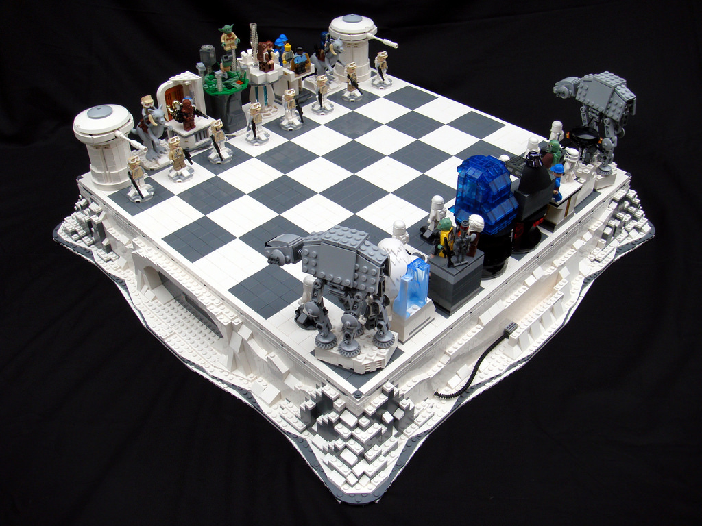 Empire Strikes Back Chess Set by Brandon Griffith