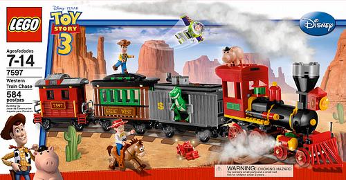 7597 Western Train Chase