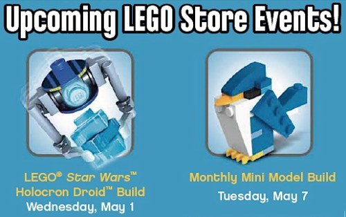 FREE LEGO Builds For May