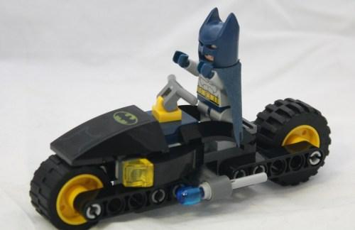 Bat-Bike with Batman