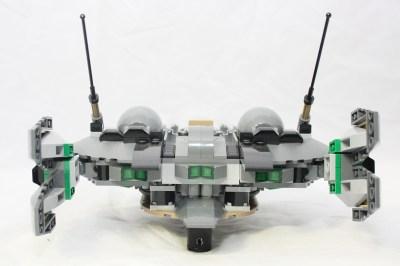 Black Zero Dropship - Back