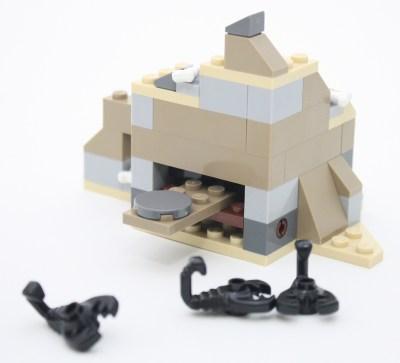 Scorpion Launcher Back