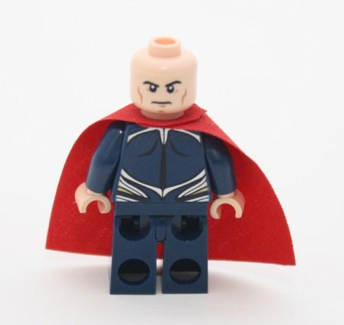 Superman Alt-Face and Back