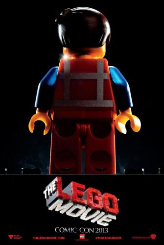 The LEGO Movie Comic Con Poster