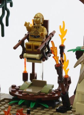 C3PO on Floating Throne