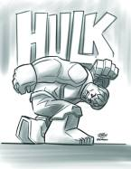 Indestructible Hulk #14 - LEGO Sketch Variant
