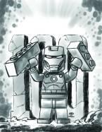Iron Man #17 - LEGO Sketch Variant
